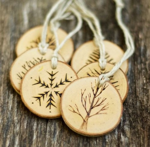Pyrography Create Your Own Christmas Tree Decoration Ecojam