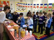 Bordeaux cafe initiative at Dolphin primary