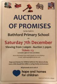 Charity auction event, Bath 7th December, fundraiser, community event