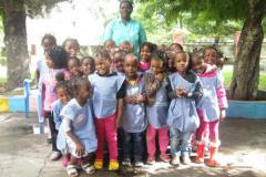 Bristol Link with Beira supports preschool First of May in Beira