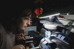 Researcher in a lab