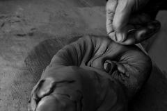 Emily Cartwright image of hands in clay