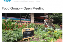 Transition Bath Food Group - Open Meeting