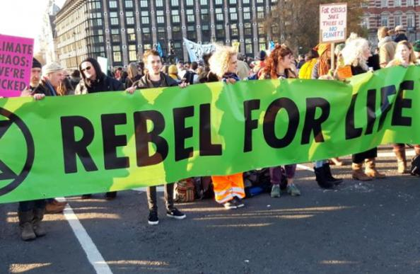 Extinction Rebellion launches in Bath