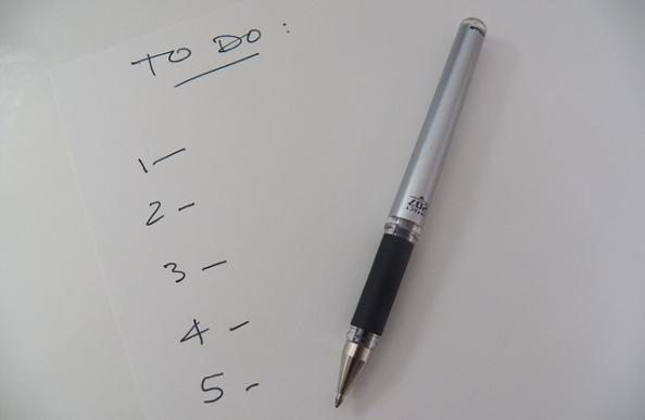 To do list: Making positive lifestyle changes to increase wellbeing and become more environmentally friendly