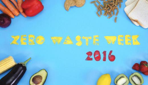 Zero Waste Week 2016 - 5 - 9 September